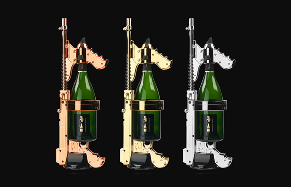 Extra Night Champagne Guns